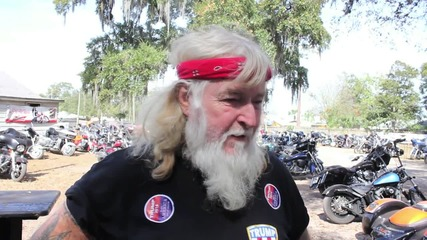 USA: Bikers for Trump members rally ahead of key Florida primary