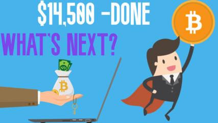 Биткойн мина $14,500 - Какво следва през 2020-2021?