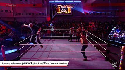 Josh Briggs & Brooks Jensen vs. Keegan Scott & Taylor Garland: WWE 205 Live, Oct. 15, 2021