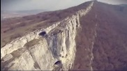Уникална скална стена край язовир Александър Стамболийски, заснет с дрон