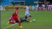 25.06.2014 Хондурас - Швейцария 0:3 (световно първенство)