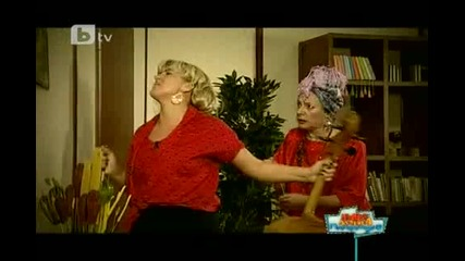 Пълна лудница - Жоро Бекама и Лариса (смях !!)