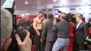 Шамара на Чисора срещу Кличко