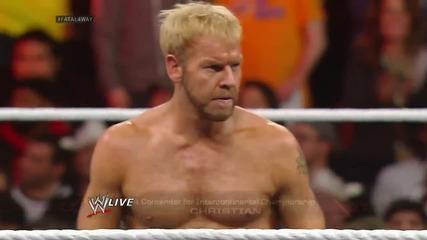 Sheamus vs. Dolph Ziggler vs. Christian vs. Alberto Del Rio - Fatal 4-way Intercontinental Title