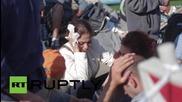Croatia: Slovenia secures border crossing to Croatia, stranding refugees
