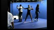 Black Eyed Peas - Boom Boom Pow ( Заснемането На )