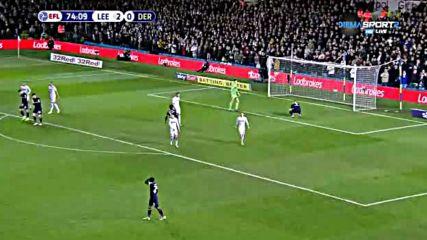 Лийдс Юнайтед - Дарби Каунти 2:0 /репортаж/