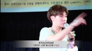 [kyuloveme] 150531 Sunggyu Sinchon Fansign Event