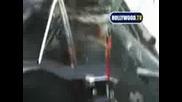 Miley Cyrus And Nick Jonas - блъскат кола
