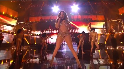 Jennifer Lopez ft. Pitbull - Until It Beats No More / Papi / On the Floor( American Music Awards )