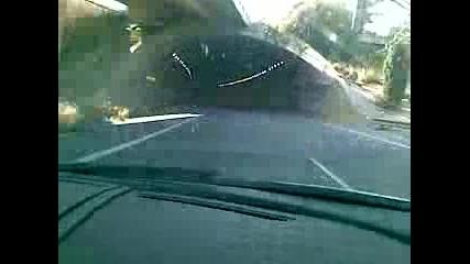 Lamborghini Gallardo в тунел