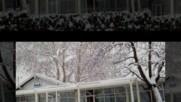 Зимна красота -гребна база в Пловдив 6. 1 .2017- авторски