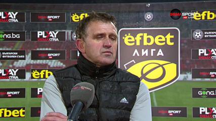Бруно Акрапович: Никога не съм доволен