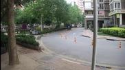 Kак изхвърлят боклука в Китай