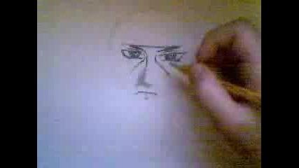 How To Draw Itachi