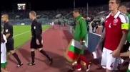 България - Дания 1:1