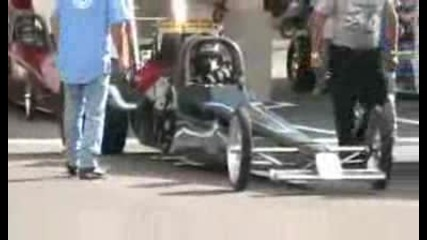 Top Dragster Fast16 at Bandimere speedway