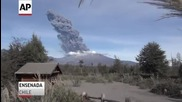 Червена тревога: Вулканът Калбуко изригна за трети път