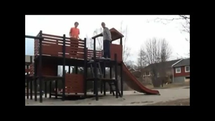 Parkour and Freerunning Fails 2011