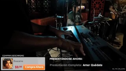 Jencarlos Canela - All i need is love and Amor quedate