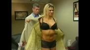 Джаки се Съблича за Винс Макмеън - Wwe Raw 24.06.2002