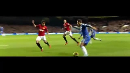 Eden Hazard vs Manchester United 2012 - 2013