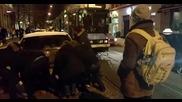 Норвежки начин за справяне с лошо паркиран автомобил, който блокира пътя на трамвай