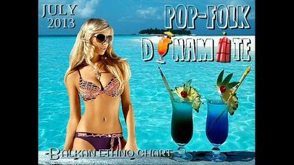 Pop-folk Dynamite July (2013) - Promo mix