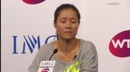 Ли На се раздели през сълзи с тениса