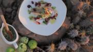 Печен червен луциан със салца верде | Мексиканска фиеста с Питър Курувита | 24Kitchen Bulgaria