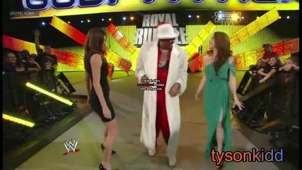 Wwe Royal Rumble 2013 : The Godfather се завръща в мелeто [ както си дойде,така си и отиде ]