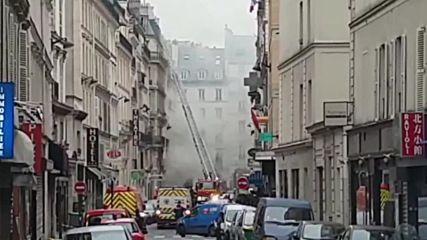 Експлозия в пекарна в Париж рани поне 20 души