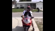 Как се паркира мотор Suzuki