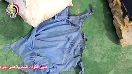 Египет: Показаха първи отломки от полет MS 804