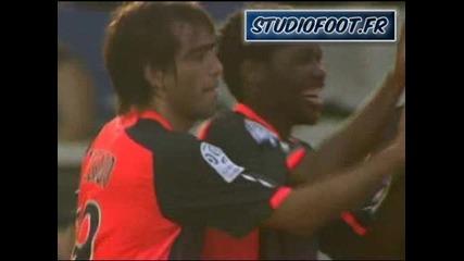 Лига 1 - Оксер 0:3 Лион - втори гол