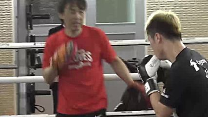 Japan: Kickboxing prodigy Nasukawa trains ahead of Mayweather fight