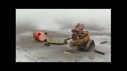 Pixar Wall - E (2008) Hd Trailer Walt Disney Pictures Vacuum