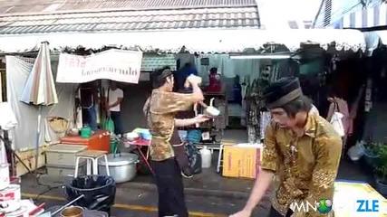Тайландски Метод За Охлаждане На Чая !