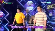 (hd) F (x), Hyungdon & Daejune & After School - Back stage ~ Show Champion (03.07.2012)