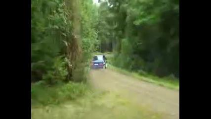 Volvo 740 Rally Car