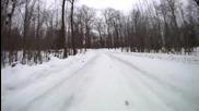 Ken Block си тества Фиестата на сняг