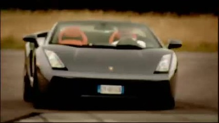 Top Gear - Lamborghini Gallardo Spyder supercar review