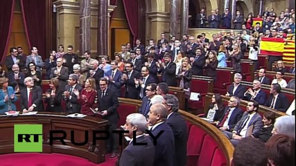 Spain: Catalan Parliament votes in favour of secession from Spain