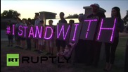 USA: Dozens stand with Ahmed with solidarity prayer at MacArthur High