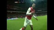 Радоста На Henry След Гола Срещу Man Utd