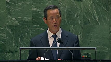 UN: North Korea rep defends build-up of national defences as 'war deterrent' from US