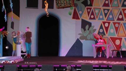 N e W: Sia - Big Girls Cry Live @ Jimmy Kimmel [официално] H D