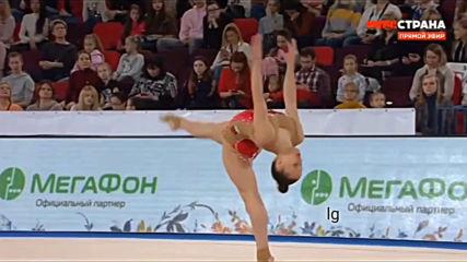 Татяна Воложанина топка финал Гран При Москва 2020