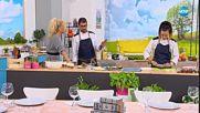 Рецептите днес: Имамбаялдъ и Чийзкейк със сладко от ягоди - На кафе (16.11.2018)