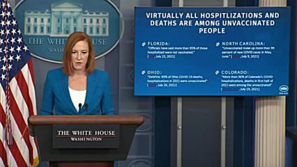 USA: 'We are at war' with virus - Psaki amid new CDC mask guidelines for vaccinated people